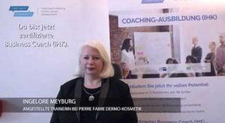 Thumbnail für das Testimonial-Video von Ingelore Meyburg