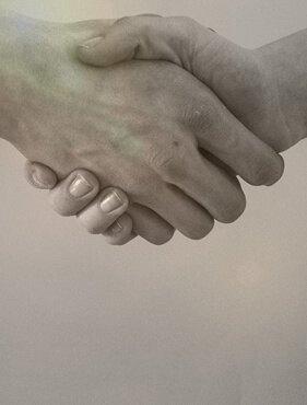 Ein Handschlag