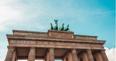 Ein Foto des Brandenburger Tors