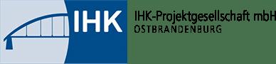 Das Logo der IHK Projektgesellschaft Ostbrandenburg mbH